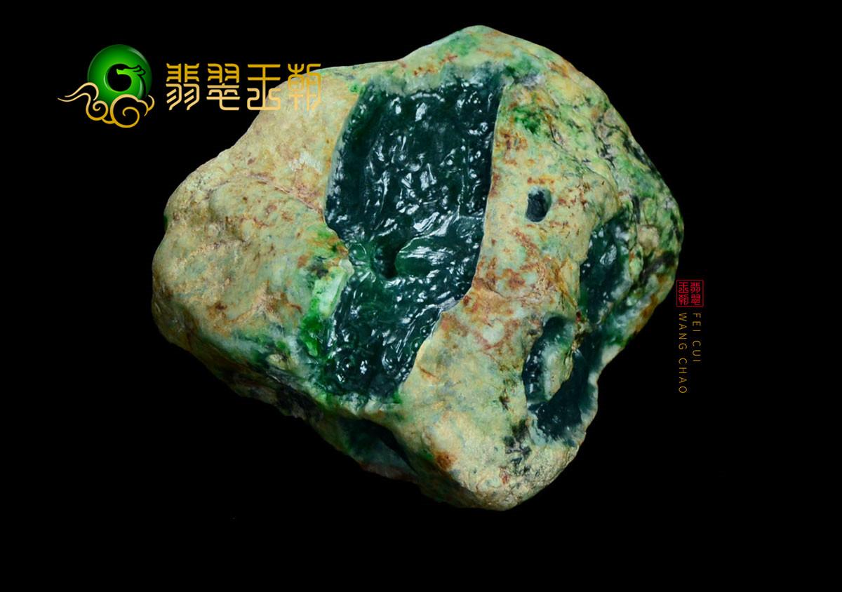 翡翠原石场口:缅甸帕敢场口翡翠原石常见的特征