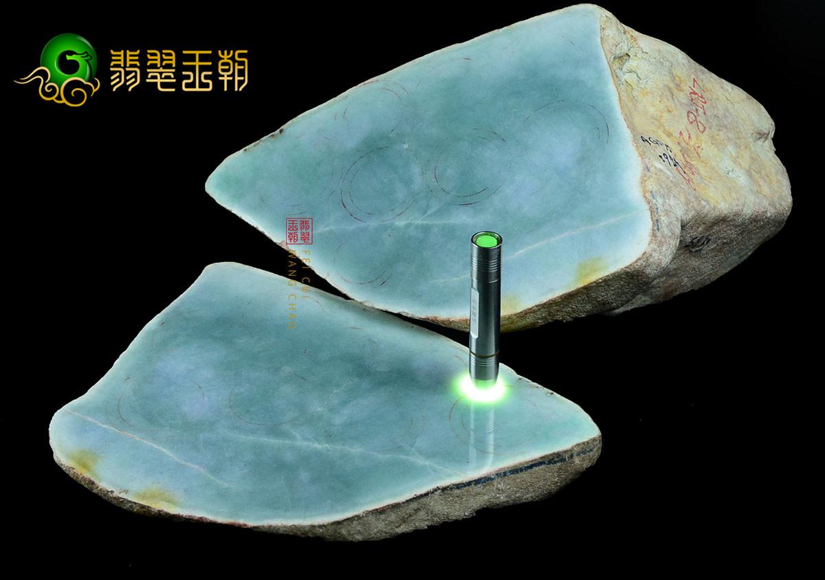 缅甸翡翠原石玉石毛料皮壳特征之绺