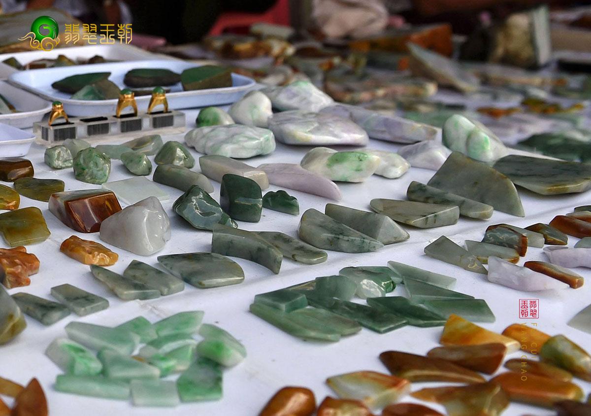翡翠原石价格_缅甸怕丙-百善巧磨场口缅甸翡翠原石市场价格