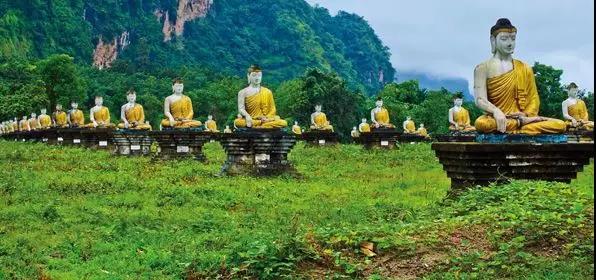 """中缅边境_中缅边境""""帕奥禅林""""入海口的信仰圣地"""