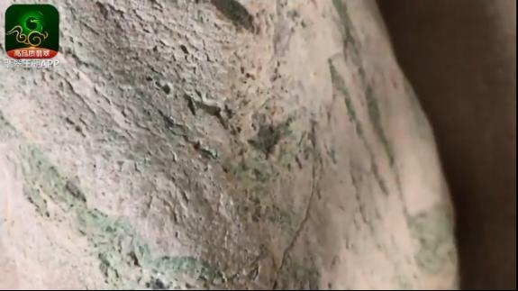 缅甸木那场口白岩沙皮壳翡翠原石博色料