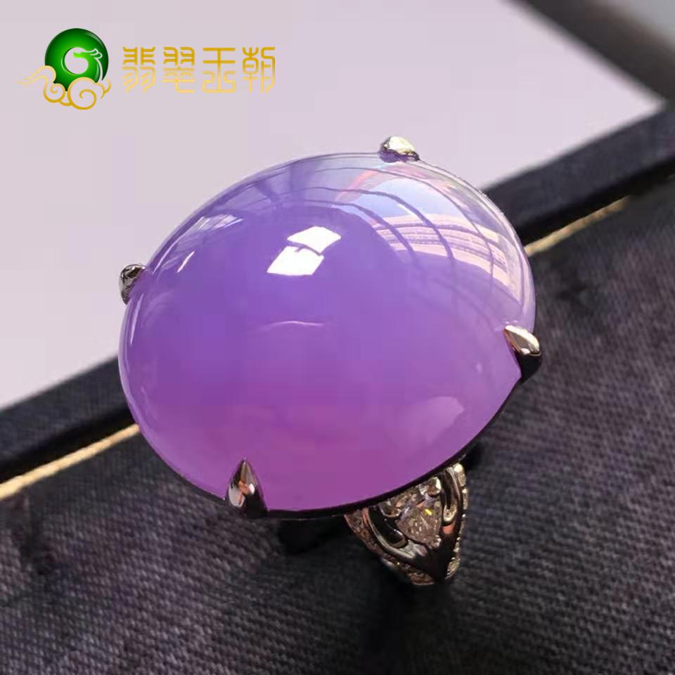 翡翠原石_紫罗兰和皇家紫翡翠原石颜色有什么区别