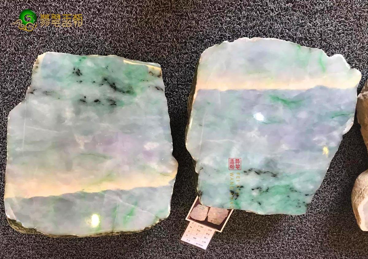 裂绺瑕疵对缅甸翡翠原石毛料品质价值影响