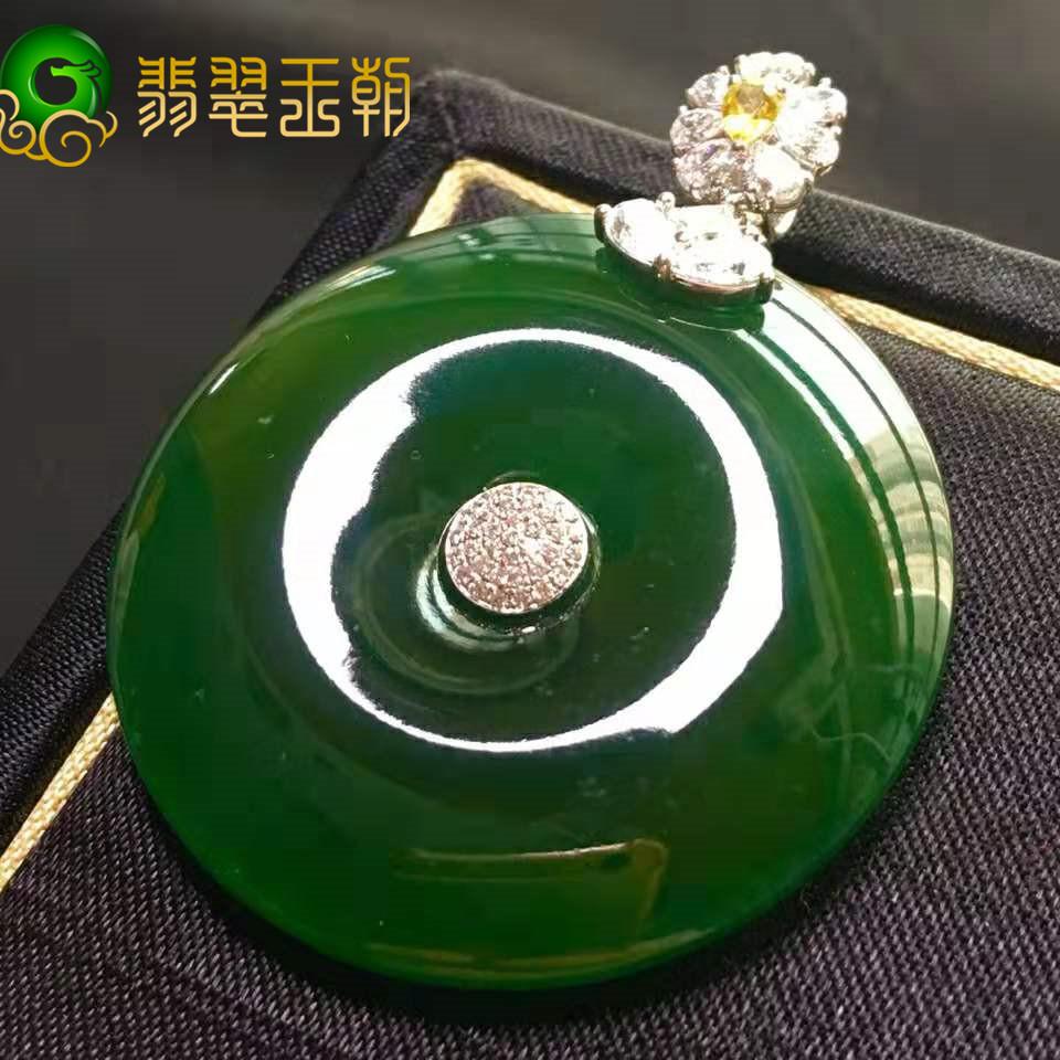 油青花青干青种缅甸翡翠原石成品价格档次区别