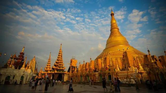 缅甸帕敢一个天堂与地狱交织的地方