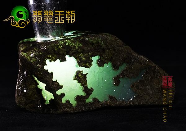 冰种缅甸翡翠原石的市场价值以及用途