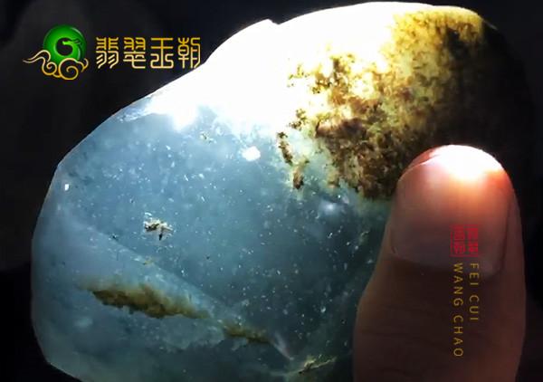 老坑无色玻璃种缅甸翡翠原石真伪鉴定方法