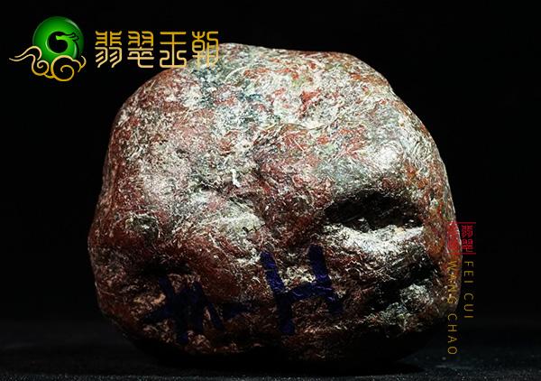 黑乌砂翡翠原石毛料赌石皮壳种类及特点表现