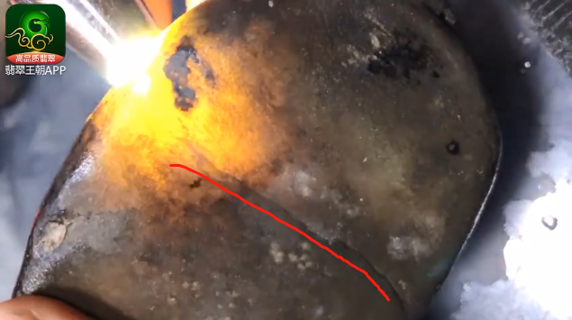 2.79公斤南奇老皮壳糯冰种翡翠原石什么价位?