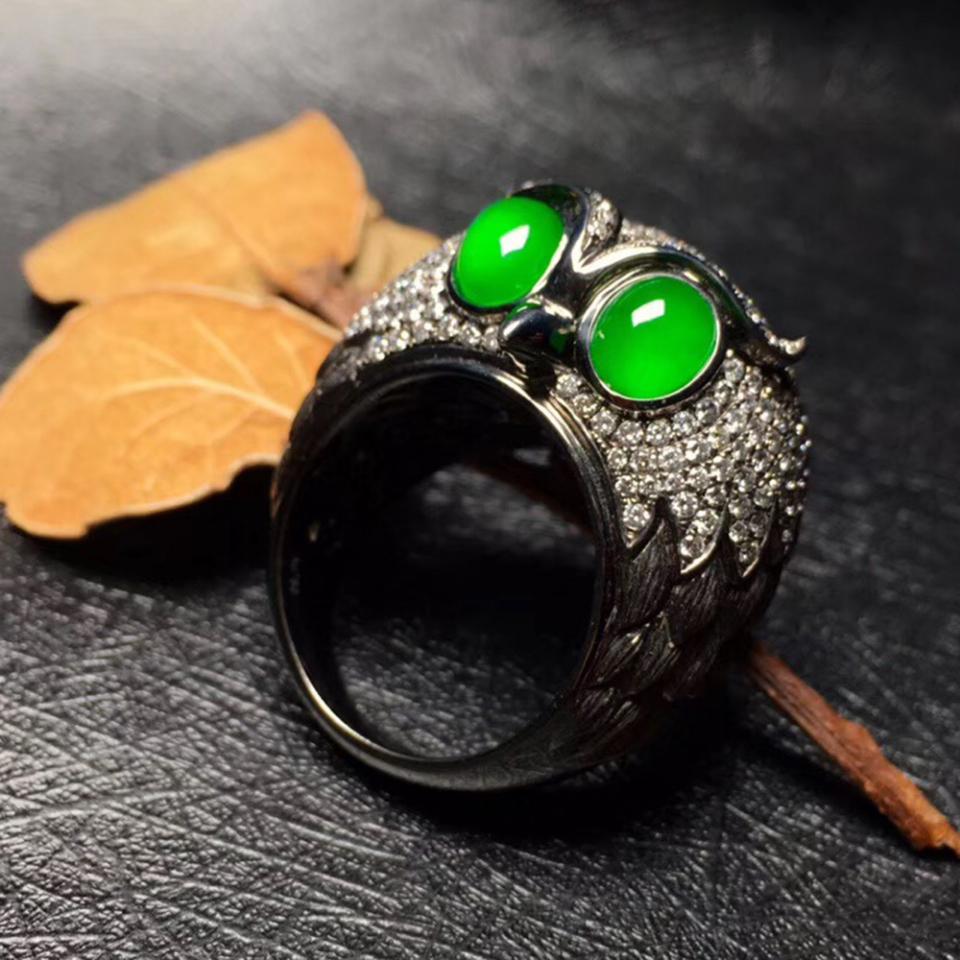 老坑冰种帝王绿翡翠原石成品什么价位?冰种帝王绿翡翠手镯多少钱