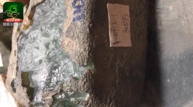 莫西沙场口翡翠原石_莫西沙场口300万正冰高货缅甸翡翠原石皮壳打灯特点