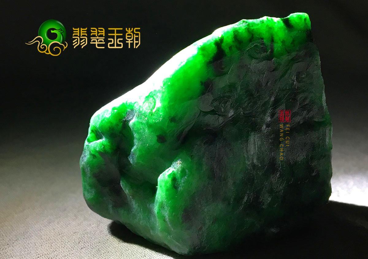 后江场口翡翠原石特点_后江场区翡翠原石的特色精品—小件色料