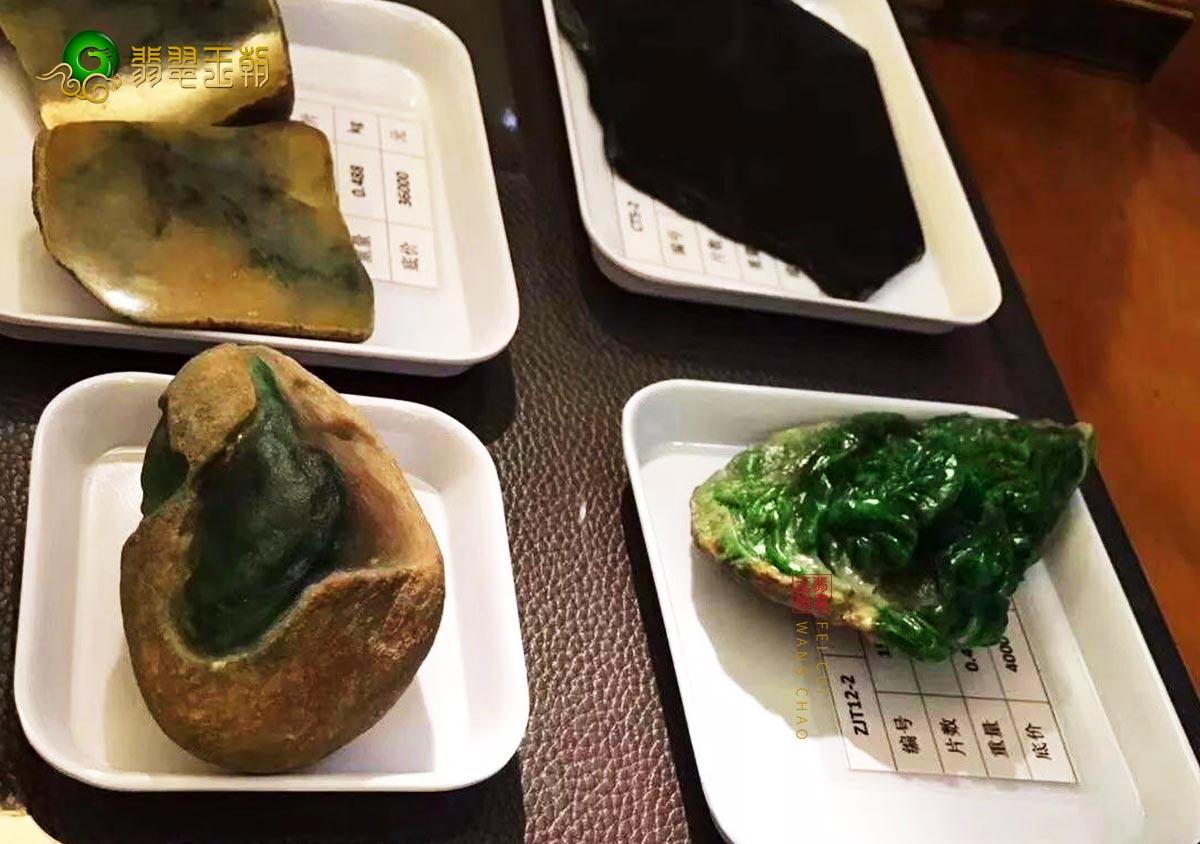翡翠原石交易_在缅甸翡翠原石市交易场选购翡翠原石毛料的技巧