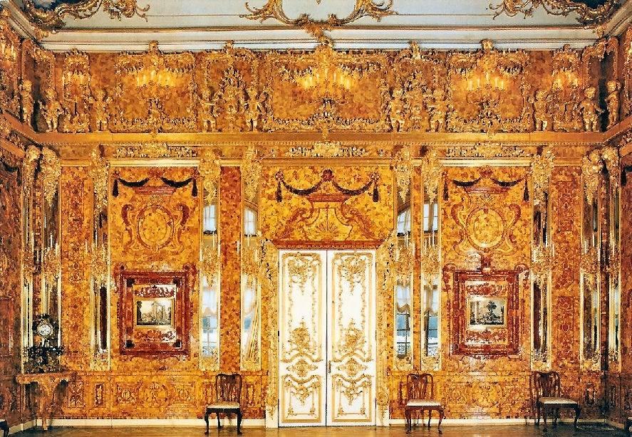感受价值40亿人民币的绝世珍宝—琥珀屋