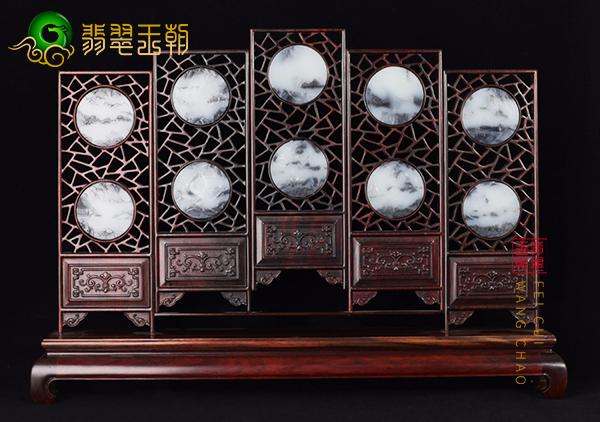 东汉中山穆王墓出土玉座屏,和田玉雕玉座屏玉山子价格