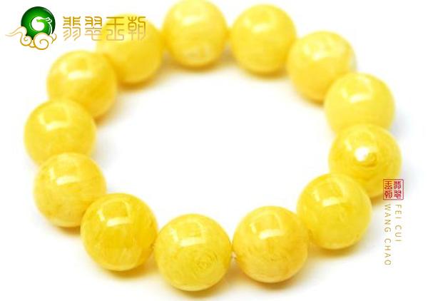 蜜蜡柠檬黄手串价格差距大应该怎样选购呢?