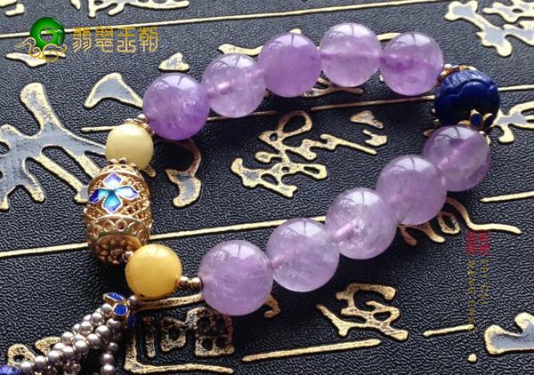不同等级天然紫水晶手链价格多少钱一克