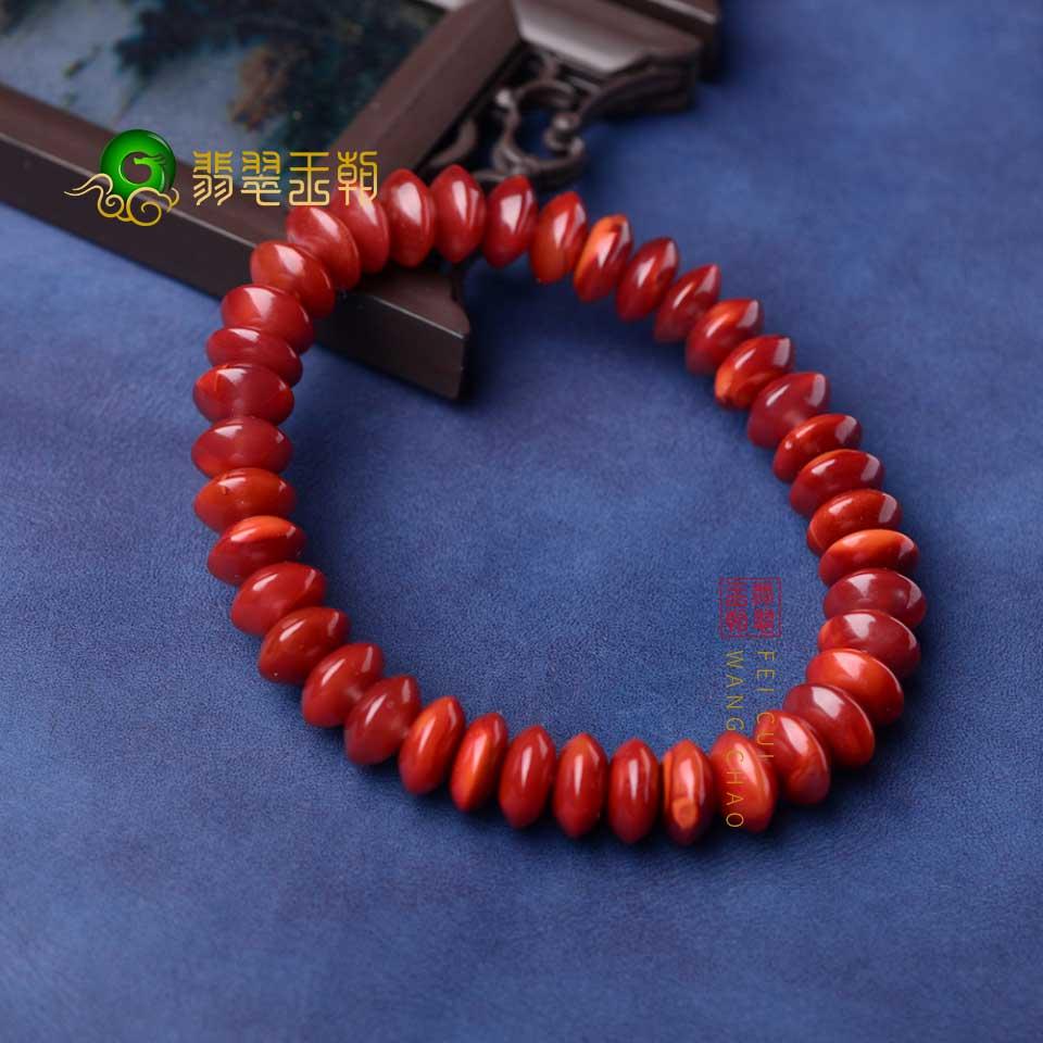 南红珠链手串如何鉴别?天然南红鉴定小技巧