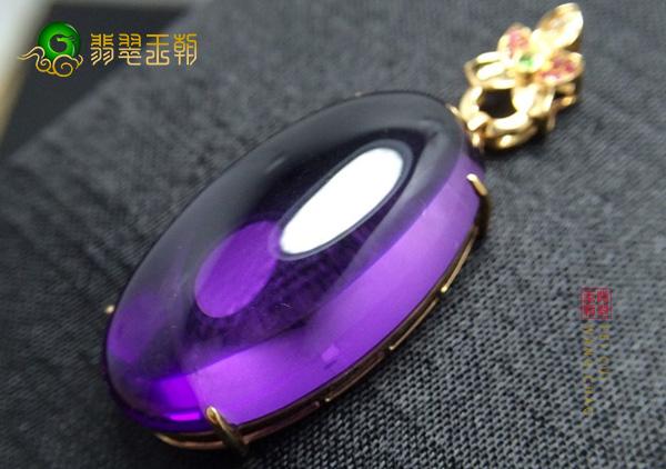 南美洲出产的极品天然紫水晶多少钱一克