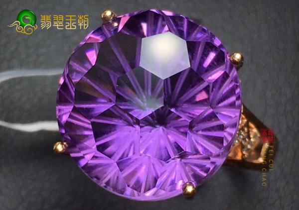 乌拉圭紫水晶戒指价格多少钱一克