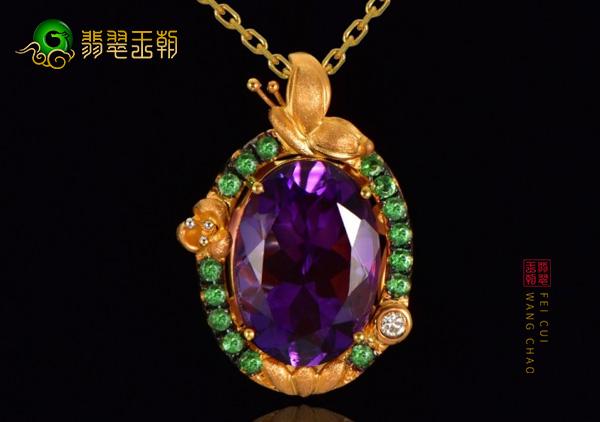 不要问紫水晶多少钱一克,先听紫水晶项链的美丽传说