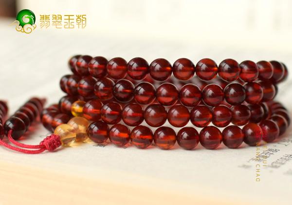 缅甸血珀佛珠手串保养盘玩有什么简单技巧?