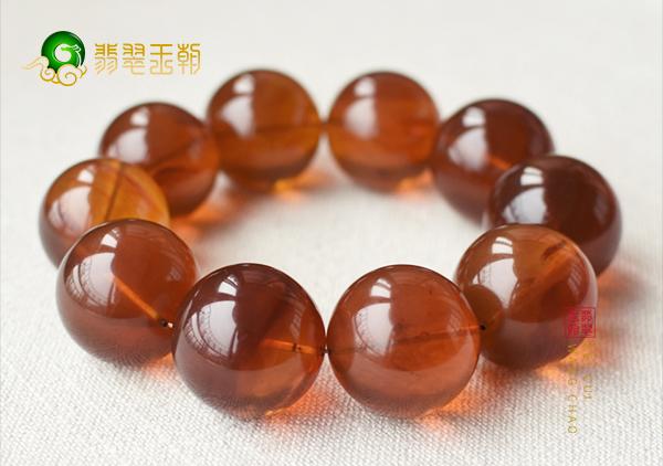 缅甸琥珀手串108珠链,云南腾冲缅甸琥珀批发市场价格低