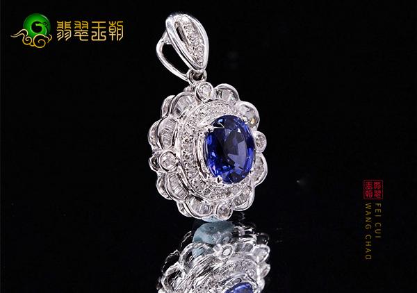 天然蓝宝石与人造合成蓝宝石的真伪鉴别方法