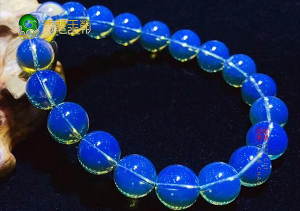 天然多米尼加蓝珀珠子真假怎么鉴别?