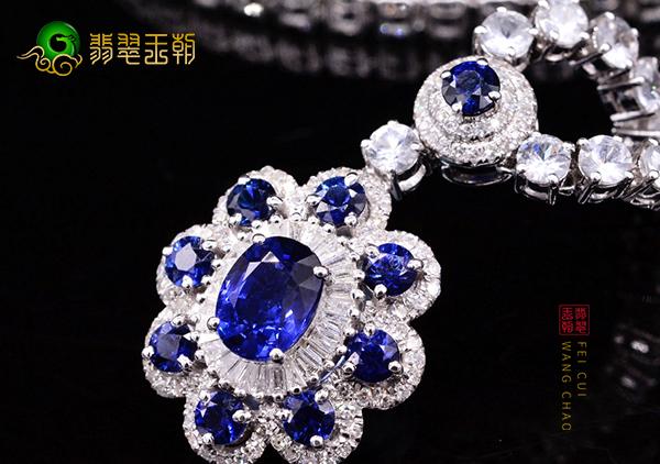 蓝宝石项链日常佩戴保养注意事项以及挑选技巧