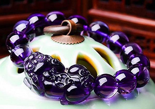 紫水晶貔貅手链佩戴的6点讲究,戴对招财促姻缘
