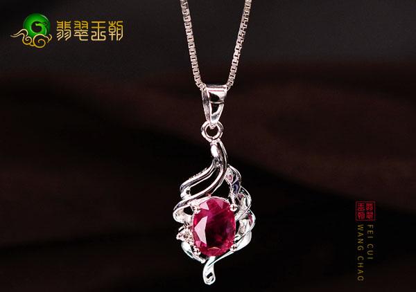 红宝石吊坠的3点挑选注意事项,红宝石爱情的守护石