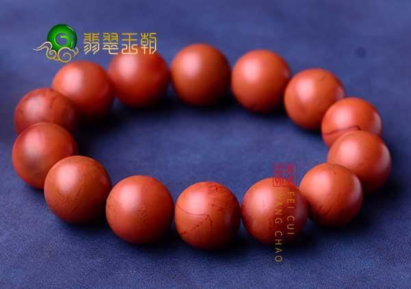 保山南红珠子戴了一段时间居然开裂发白是什么原因?