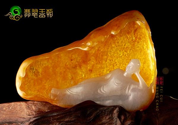 翡翠雕刻摆件是古老的玉雕技法