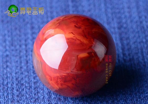 锦红樱桃红南红珠子收藏价值的6种体现,南红收藏