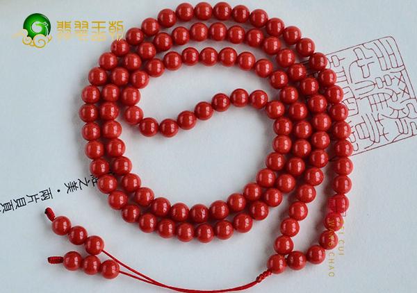 红珊瑚手链项链佩戴四方面功效作用,具有捕捉疾病的功能
