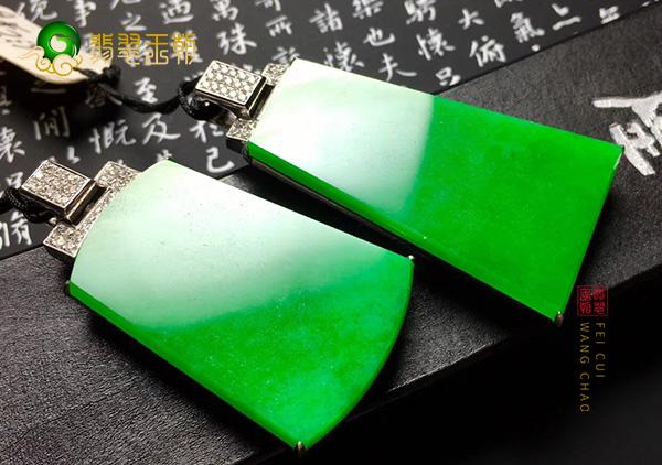 购买冰种阳绿翡翠吊坠戒指能保值更能升值!