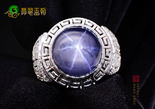 星光蓝宝石价值特征星线的重要性,星光蓝宝石的寓意