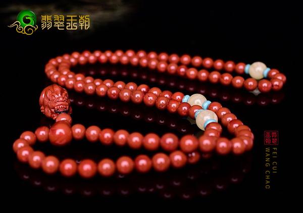 保山南红柿子红貔貅项链佩戴收藏日常保养技巧