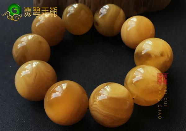 烤色老蜜蜡和西藏老蜜蜡的异同,西藏老蜜蜡鉴别