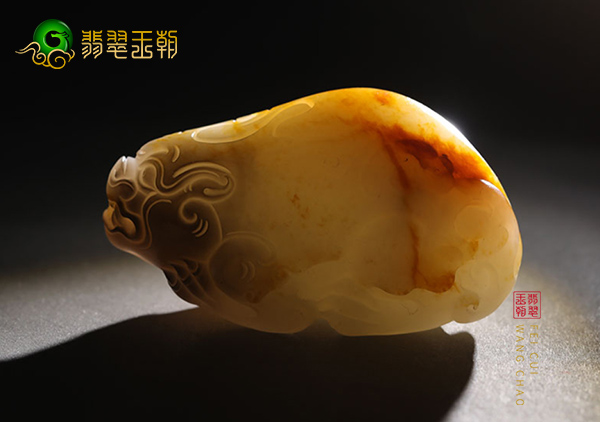 和田玉籽料貔貅挂件的价格取决于和田籽玉4种皮色的价值