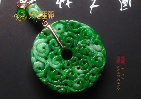 铁龙生翡翠平安扣的两大特点决定了铁龙生翡翠的地位