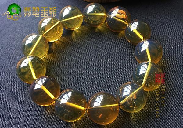 琥珀茶珀手串成品中常见的茶珀珠子形状有哪些