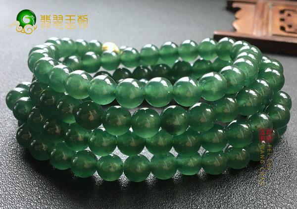 干青种翡翠珠链和油青种翡翠珠链的区别在哪里?