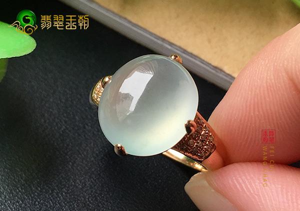 冰种晴水翡翠戒指的价格多少钱合理