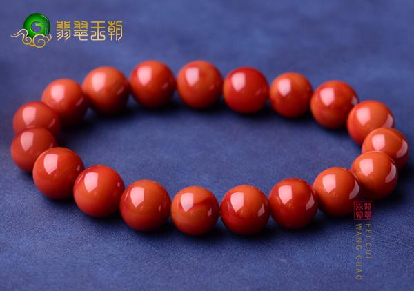 南红珠串中最具有收藏价值的7类不同颜色南红珠子