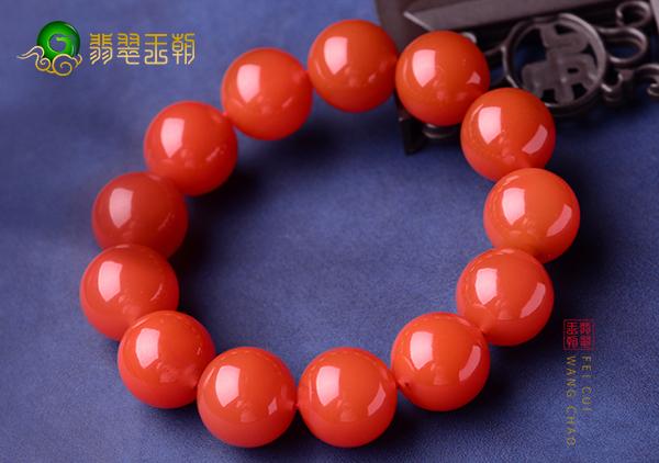 川料南红价格影响因素,川料南红珠串珠子多少一克