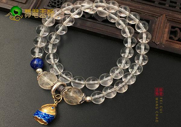 水晶珠链对应的五行学说以及所缺属性应该佩戴的水晶吊坠