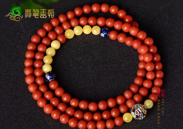 南红柿子红玫瑰红珠串颜色价值体现,哪种颜色的珠串价值高