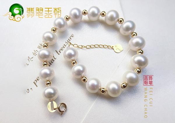 珍珠手链耳饰选购有核珍珠好还是无核的好,有核与无核的区别